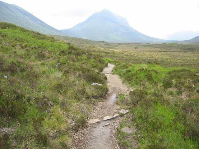 The path to Camasunary