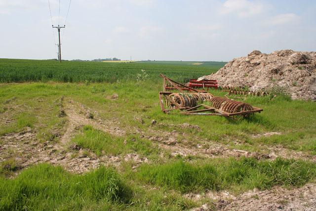 Farmland at Acthorpe Farm