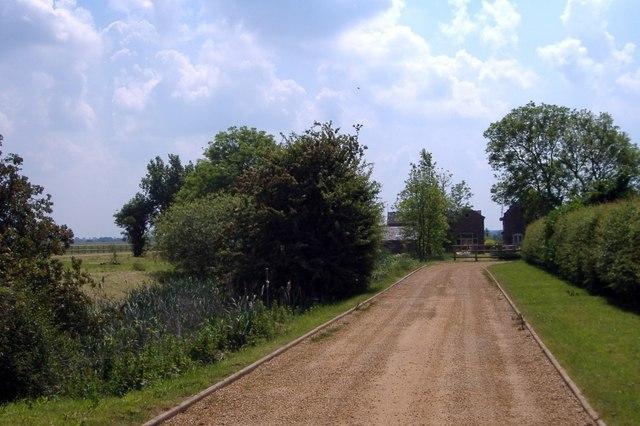 Drive to Sheppenhall Hall, Newhall