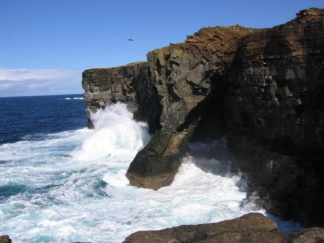 Sea Arch at Scabra head
