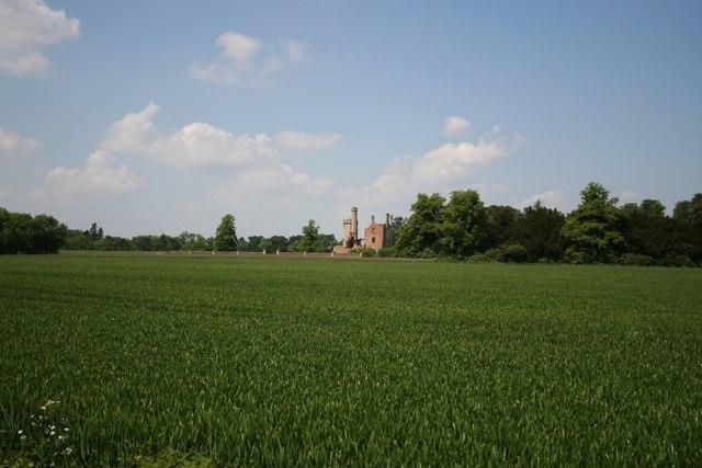 Haverholme Priory ruins