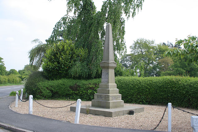War Memorial at South Elkington, Lincolnshire