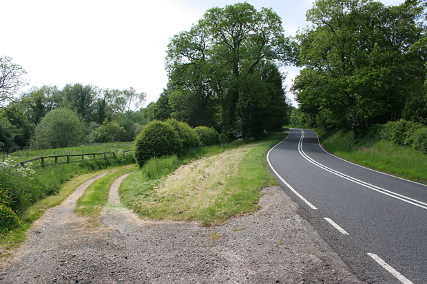 Main road at Little Welton, near Louth