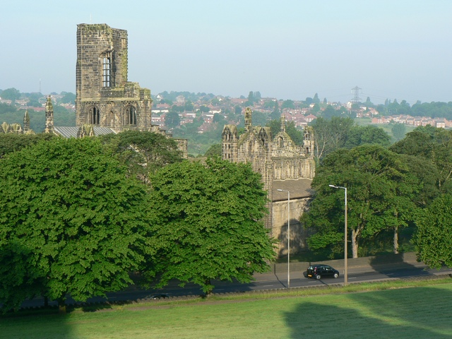 Kirkstall Abbey, 6:50am