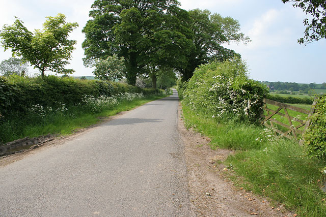 Station Lane, Raithby