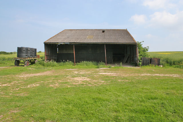 Barn near Tathwell
