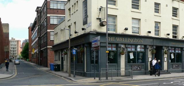 Little Queen Street and The Wellington, Leeds
