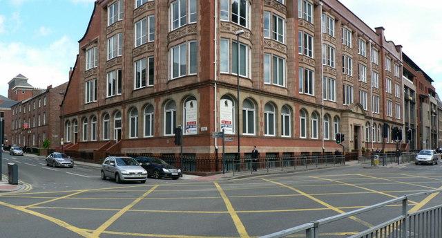 Queen Street and Wellington Street, Leeds
