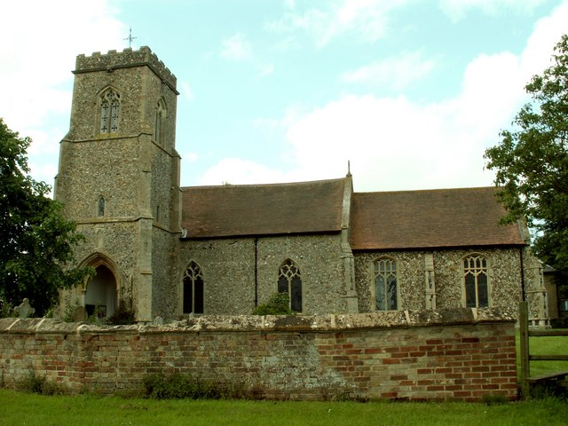 St. Mary's church, Brettenham, Suffolk