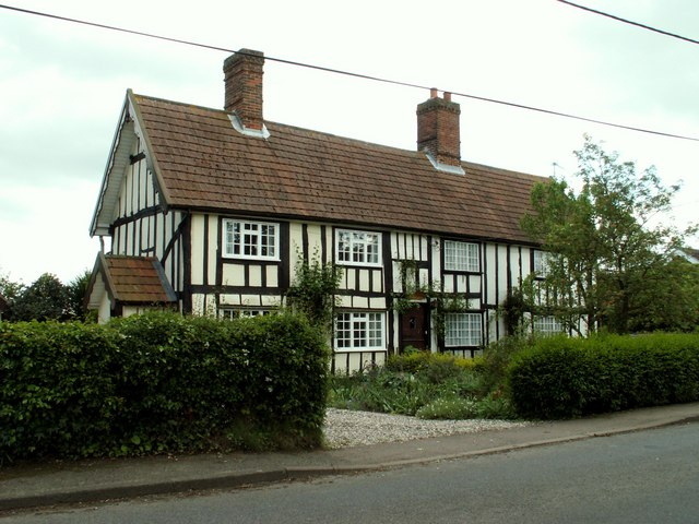 A house in Brettenham village, Suffolk