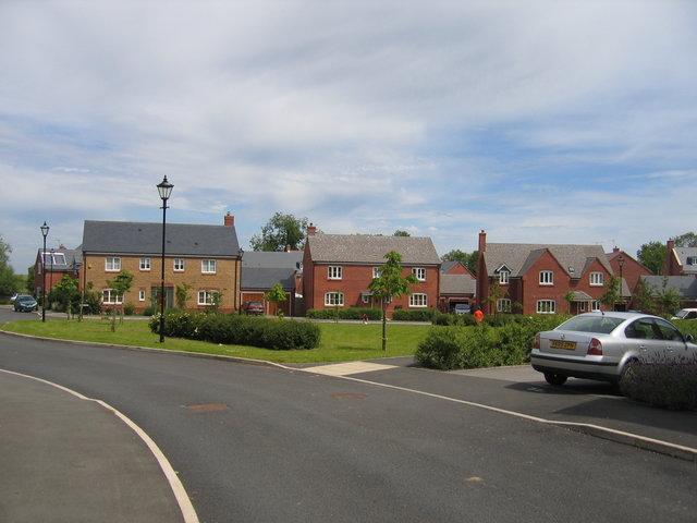 New houses at Ettington