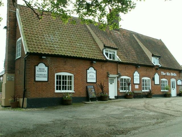 'The Six Bells' inn, Preston St. Mary, Suffolk