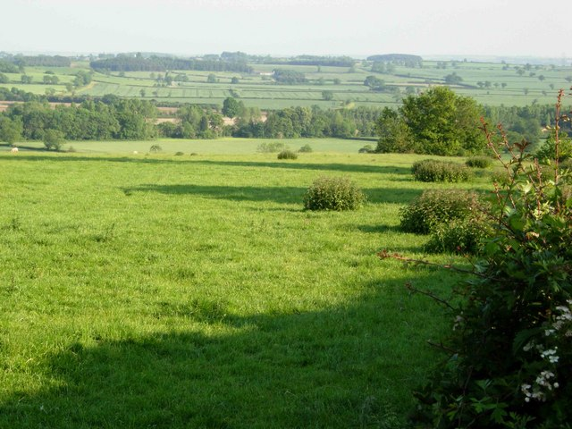 View east of Long Buckby