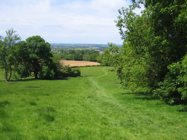 Footpath on Baker's Hill