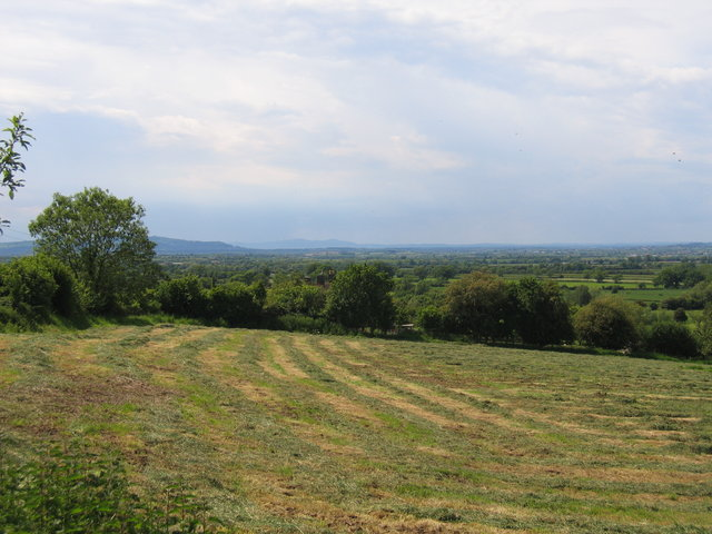 Distant view of the Malverns
