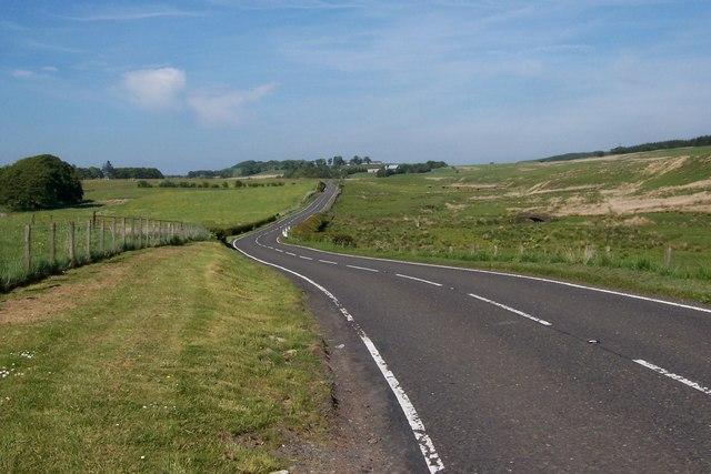 Stewarton Road near Blacklaw