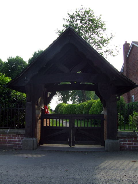 Aston church lych gate