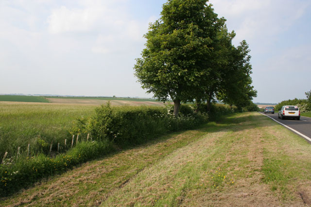 Farmland between Dovendale and Cadwell