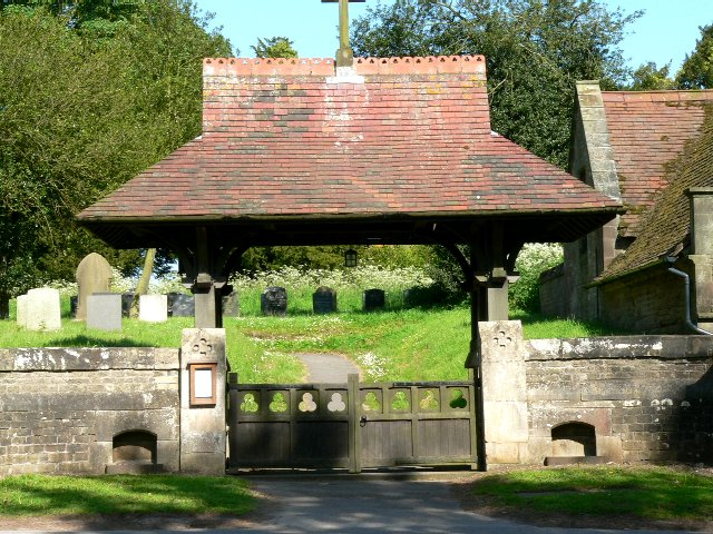 Lychgate, St. Mary's Parish Church South Dalton