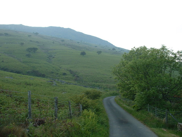 Lane near Hengwm