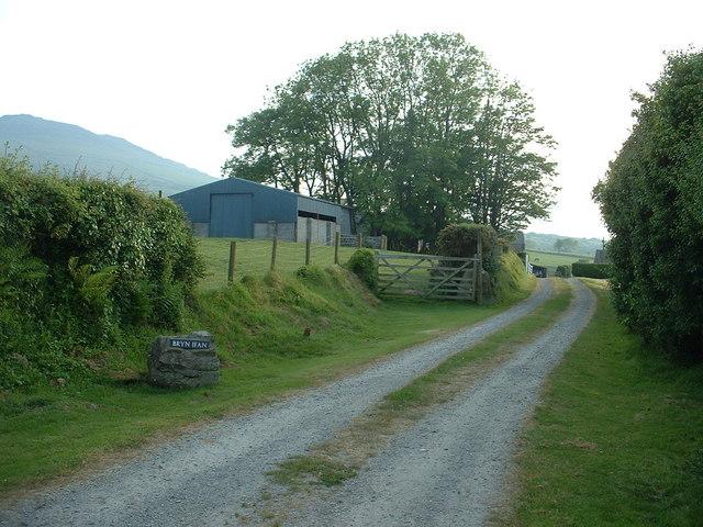 Bryn Ifan farm