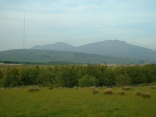Farmland at Llwyngwnadl Isaf
