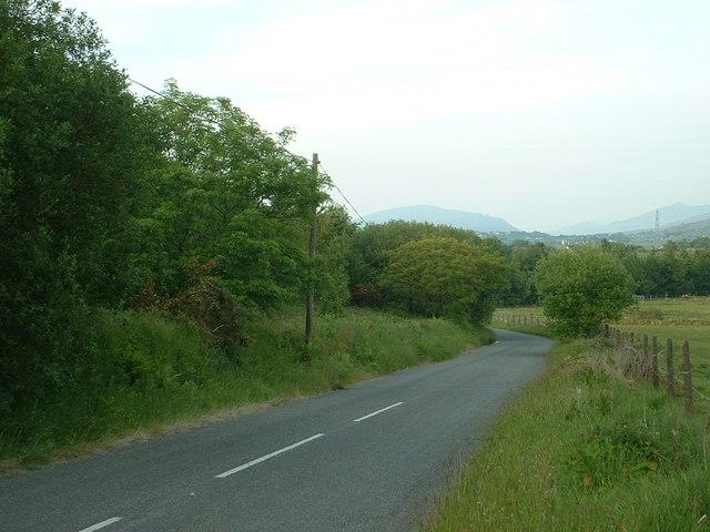 Road to Llanllyfni
