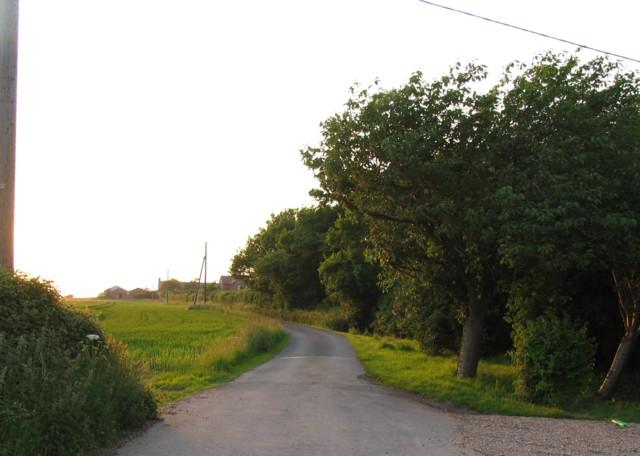 Tooley Farm Entrance