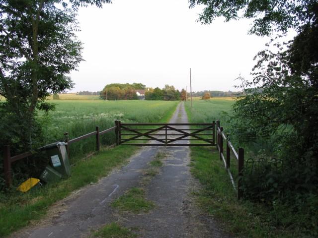 Bassett Farm driveway