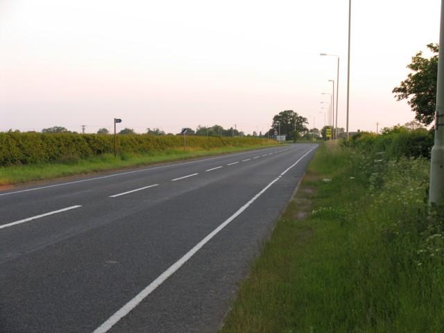 A47 towards Hinckley