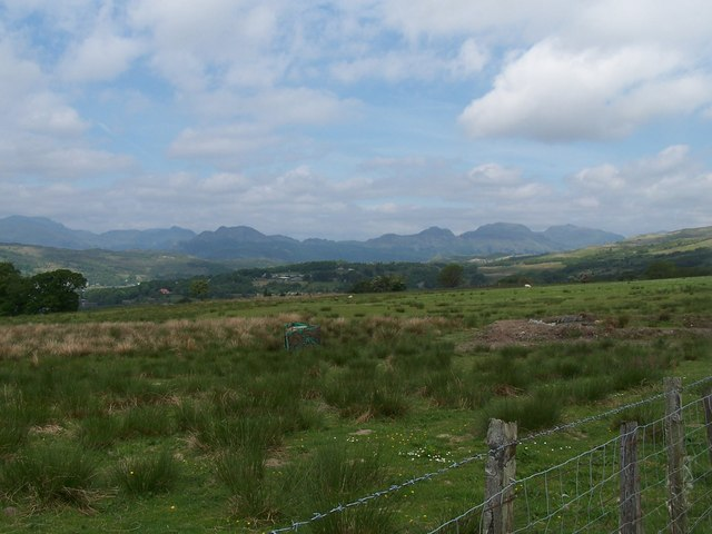 View from High Balernock Track
