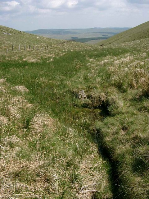 Headwaters of the Polshagg Burn