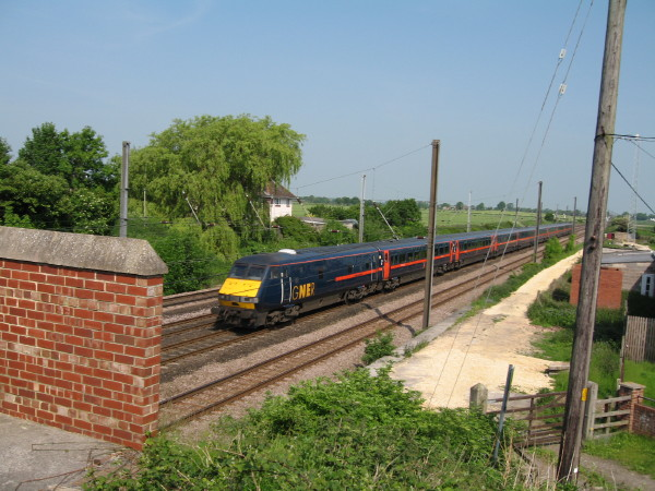 East Coast Main Line at Shipton