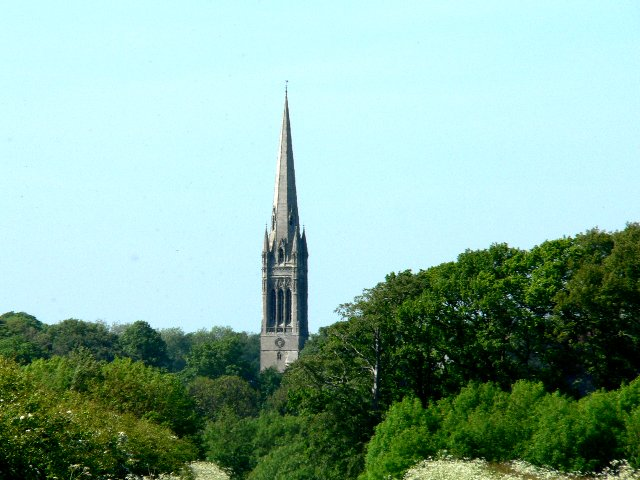 Spire of St Mary's Parish Church, South Dalton