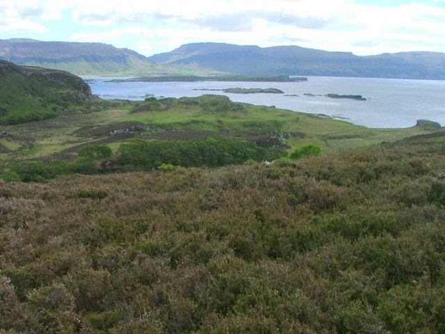 View South Over Loch na Keal