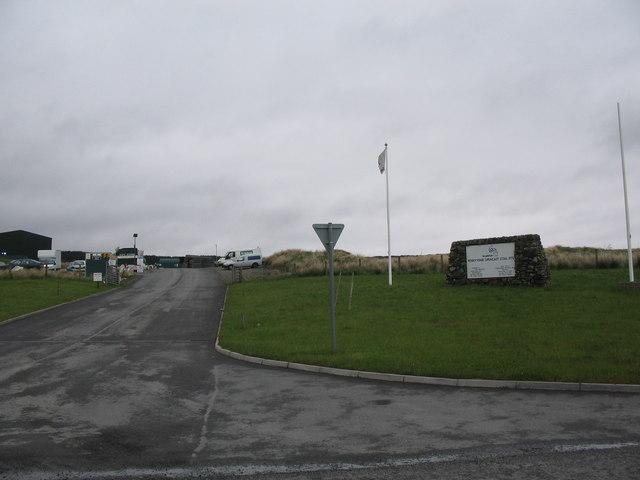 Pennyvenie opencast coal site