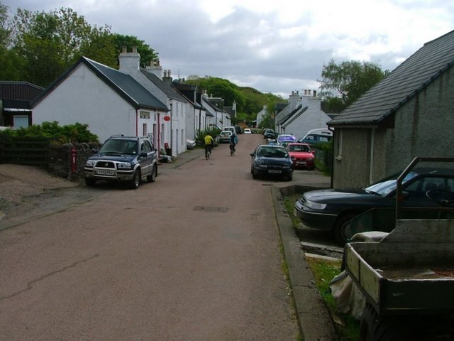 Post Office and Dervaig Main Street