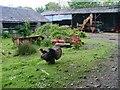 NM4438 : Farmyard, Meall Min by Mick Garratt