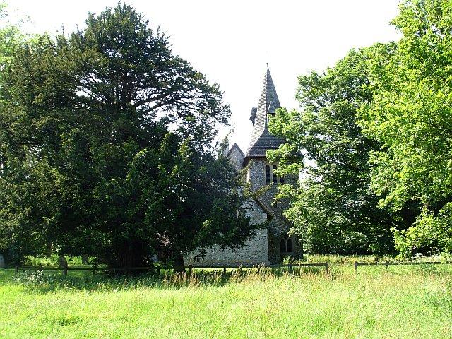 St Margaret's church, Wychling