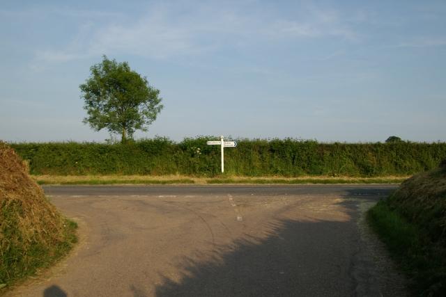 Junction near Venmore Farm