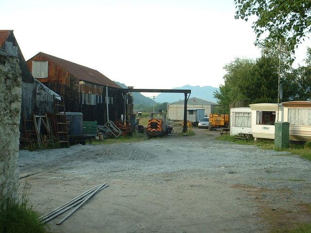 Gelert's Farm, the base of the Welsh Highland Heritage Railway [Porthmadog]
