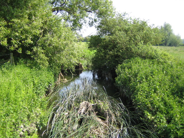 River Thame near Eythrope