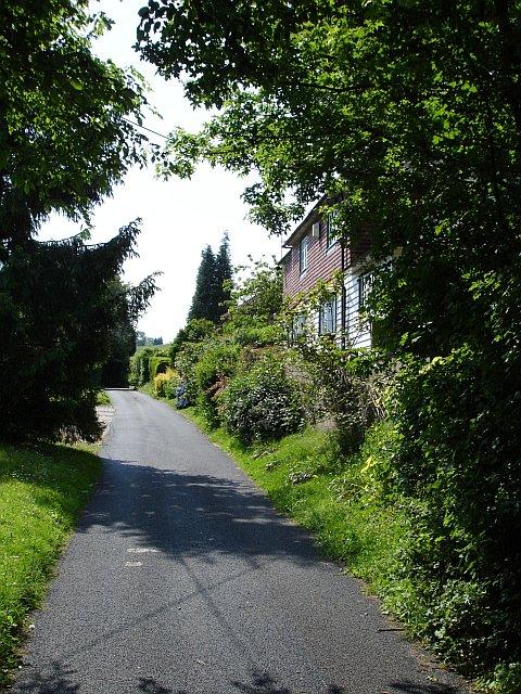 Houses on Old Lenham Road