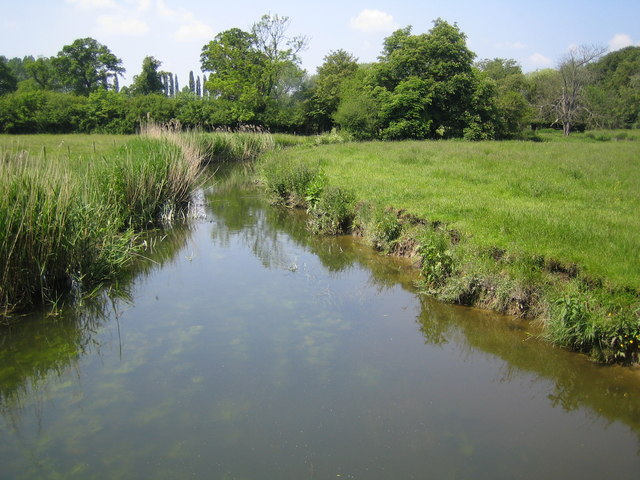 River Thame near Nether Winchendon