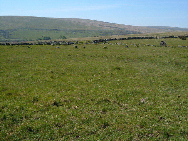 Stone circle near Little Sherberton