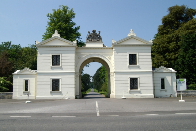 Entrance Gate to Bicton College