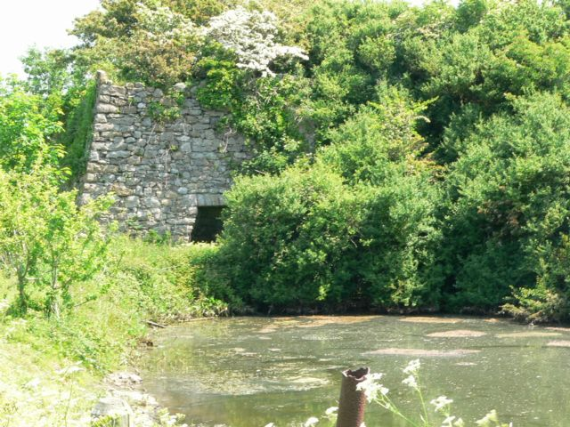 The Old Lime Kiln, near Llanfawr, Llangristiolus, Anglesey.