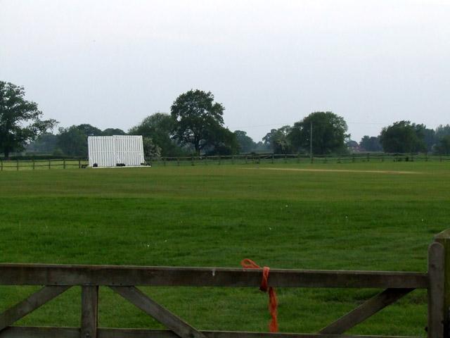Audlem Cricket Club ground