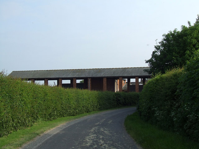 Building at Dodds Green farm