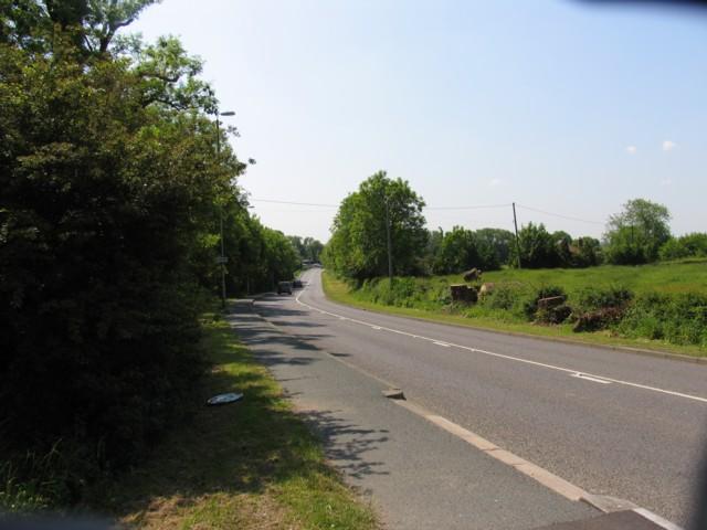 A5199 Welford Road towards Welford